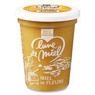 Lune de miel miel crèmeux pot plastique 500g