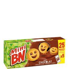 BN Biscuits mini goût chocolat 5x5 biscuits 175g