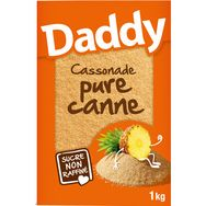 Daddy cassonade pur canne 1kg