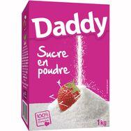 Daddy sucre en poudre étui carton 1kg