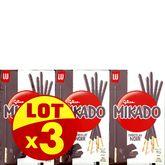 LU Mikado Biscuits au chocolat noir 3x90g