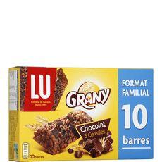 Grany chocolat barre x10 -208g