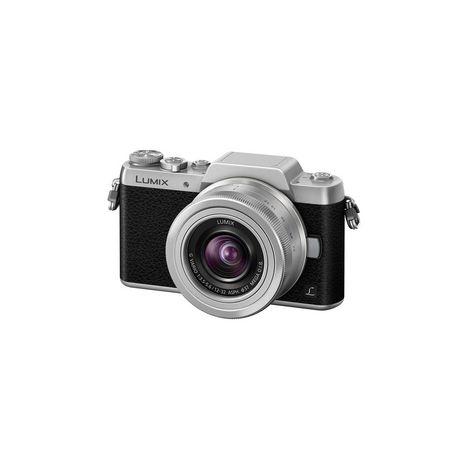 PANASONIC Appareil Photo Hybride - DMC-GF7KEF-S - Argent + Objectif 12-32 mm
