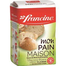 FRANCINE Farine pour pain 3 pains 1,5kg