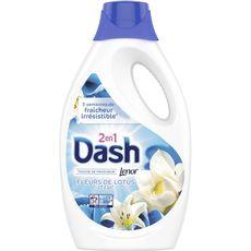 Dash lessive diluée lotus 34 lavages -1,87l