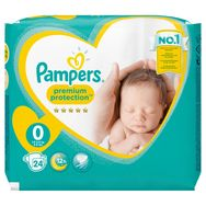 Pampers couches new baby paquet micro 1,5/2,5kg x24 taille 0