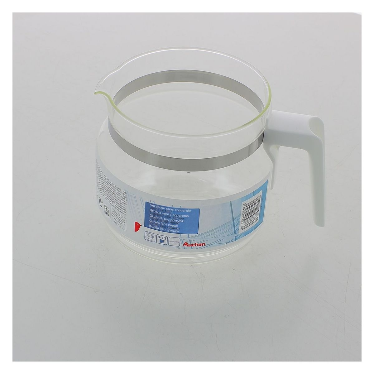 Verseuse blanche 9-12 tasses sans couvercle