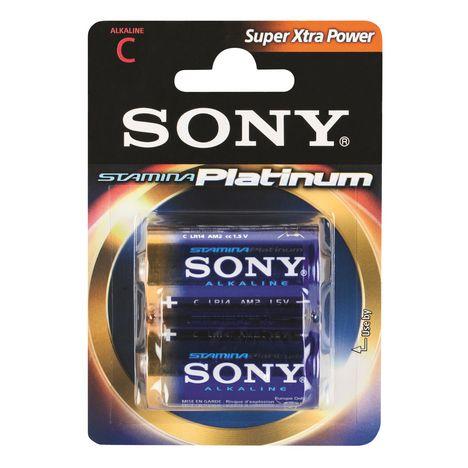 SONY Stamina Platinum - Pack piles x2
