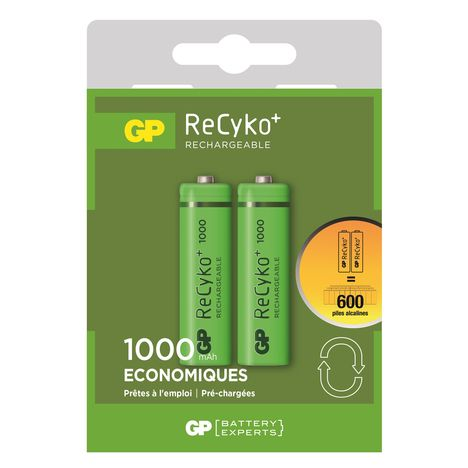 GP Piles AA rechargeable 1.5 V