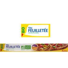 AUCHAN BIO Auchan bio Pâte feuilletée 230g 230g