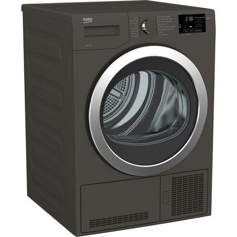 sèche-linge hublot ds8133gx, 8 kg, condensation beko pas cher à prix