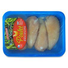 Escalope de poulet jaune 720g