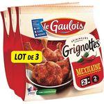 Le Gaulois grignotte de poulet mexicaine 3x250g