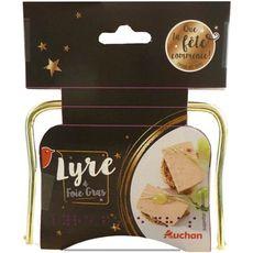 AUCHAN Auchan Lyre à foie gras 45g