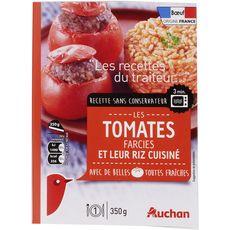 Auchan tomate farcie 350g