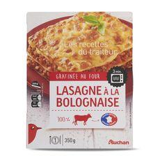 Auchan lasagne bolognaise 350g