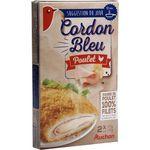 Auchan cordon bleu de filet de poulet 200g
