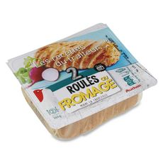 AUCHAN Roulé au fromage 2 pièces 260g