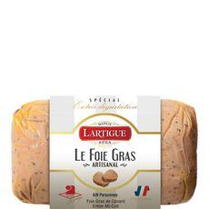 LARTIGUE Foie gras de canard entier mi-cuit 6-8 parts 225g