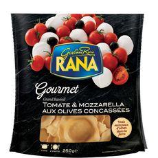 RANA Grand ravioli tomates et mozzarella 2 portions 250g