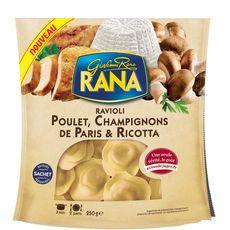 RANA Ravioli au poulet et champignons 2 portions 250g