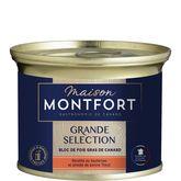 Montfort foie gras de canard avec morceaux au sauterne 140g