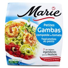 Marie gambas tagliatelle tomate 280g