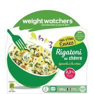 Weight Watchers rigatoni au chèvre épinards et crème 280g