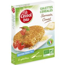 Céréal Bio galette comté 200g