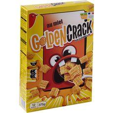 Auchan céréales goldencrack 375g