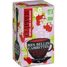 Clipper bio infusion mes belles gambettes 40g
