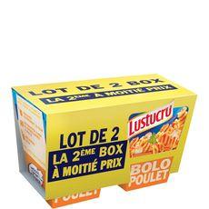 Lustucru box fusilli bolognaise 2x360g dont 50%