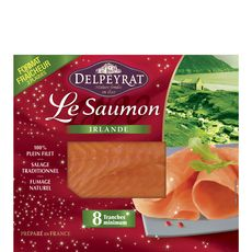 PIERRE DELPEYRAT Delpeyrat saumon fumé 2x4  -240g