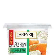 Labeyrie sauce à l'aneth pour saumon fumé 145g