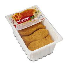 Auchan P'tits poissons au fromage fondu 2kg x20