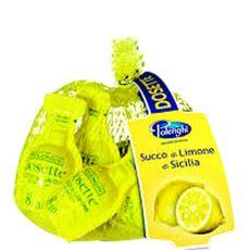 Dossettes jus de citron 49g x6