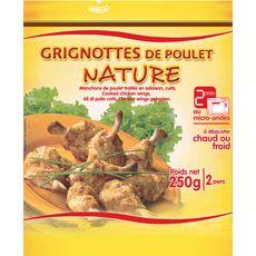Grignottes de poulet nature 250g