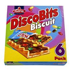 NORA Nora Discobits biscuits chocolat caramel 162g 6 étuis 162g