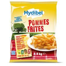 MYDIBEL Pommes frites fraîches précuites 2,5kg