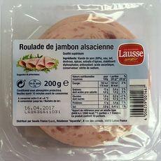LES SALAISONS LAUSSE Roulade de jambon d'Alsace 200g