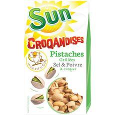 SUN Sun croquandise pistache sel et poivre 250g