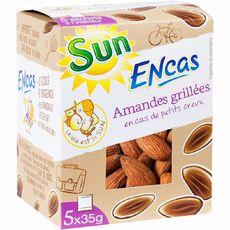 Sun Encas d'amandes grillées 175g