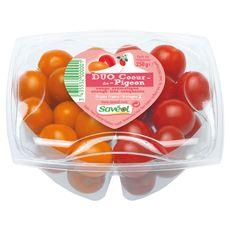 tomates cerises duo coeur de pigeon 250g