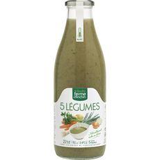 Ferme d'Anchin soupe aux 5 légumes 985ml