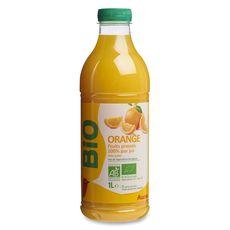 Auchan pur jus d'orange frais bio 1l
