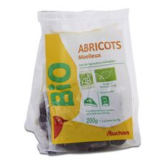 Auchan abricot sec bio 200g