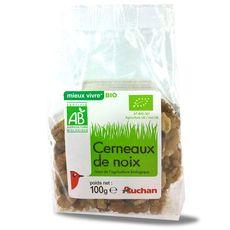 Auchan bio cerneaux de noix 100g