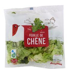 AUCHAN Auchan feuille de chêne salade sachet 125g