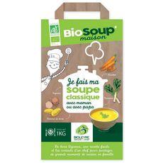 légumes à soupe bio classique 1kg