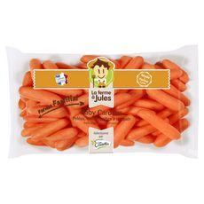 LES CRUDETTES Les Crudettes Baby carottes 400g 400g